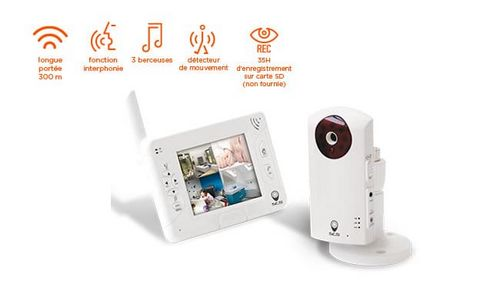 achat kit vid osurveillance pour un b b. Black Bedroom Furniture Sets. Home Design Ideas